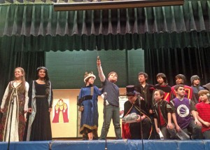A Knight At The Round Table @ Central School   East Hanover   New Jersey   United States
