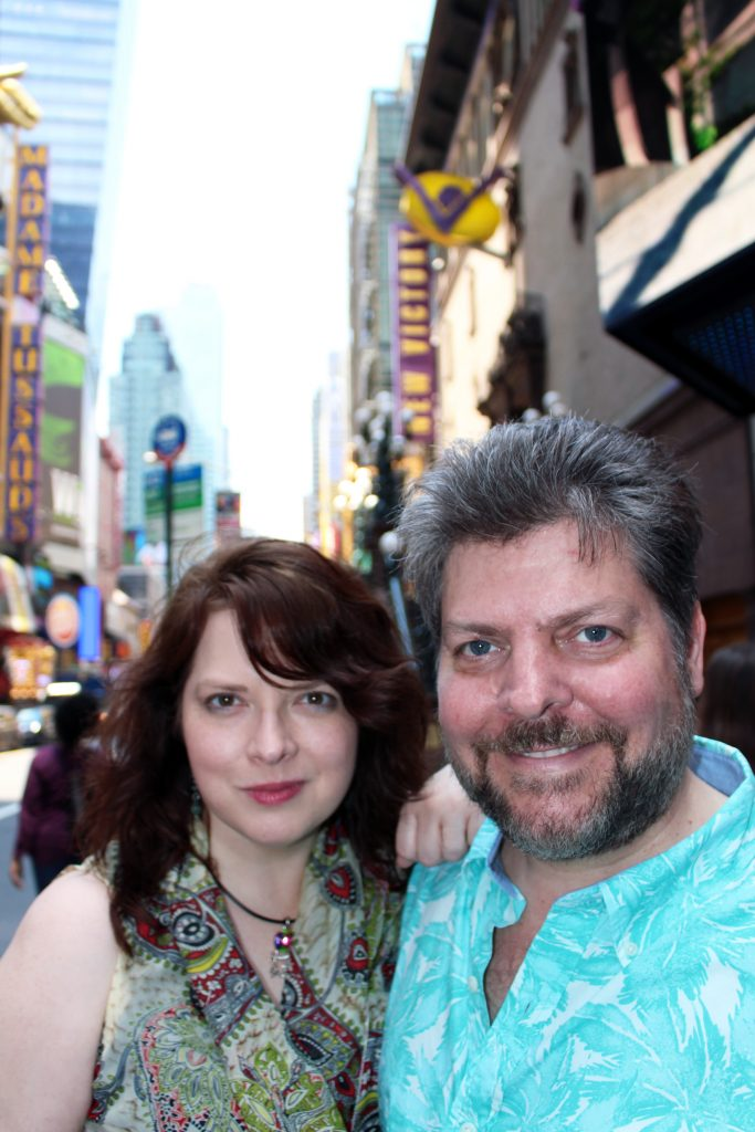 Emily & Richard in Times Square