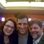 Networking with Broadway producer's cohort
