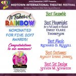 It Takes a Rainbow nominated for 5 MITF Awards