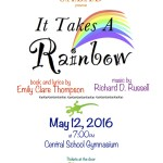 It Takes A Rainbow to be performed May 12