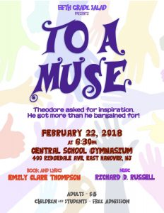 To A Muse @ Central Elemenary School | East Hanover | New Jersey | United States