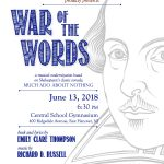 WAR OF THE WORDS has two new songs! Coming June 13