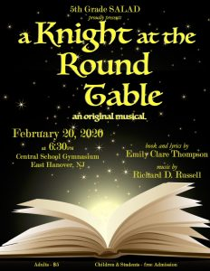 """""""A Knight at the Round Table"""" returns February 20 @ Central Elementary School"""
