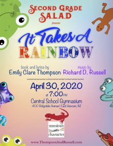 It Takes A Rainbow NEW DATE is April 30, 2020 @ Central Elementary School